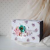 Для дома и интерьера ручной работы. Ярмарка Мастеров - ручная работа Шкатулка для украшений Принцесса. Handmade.