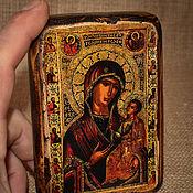 Картины и панно handmade. Livemaster - original item Iveron icon of the mother of God (Parthenissa). Handmade.