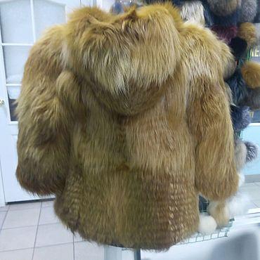 Одежда ручной работы. Ярмарка Мастеров - ручная работа Детская шуба из меха лисы. Handmade.
