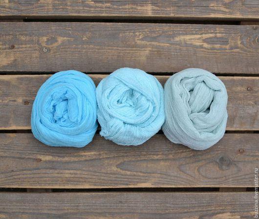 Аксессуары для фотосессий ручной работы. Ярмарка Мастеров - ручная работа. Купить Марлевые обмотки для фотосессий новорожденных 3 шт. Handmade.