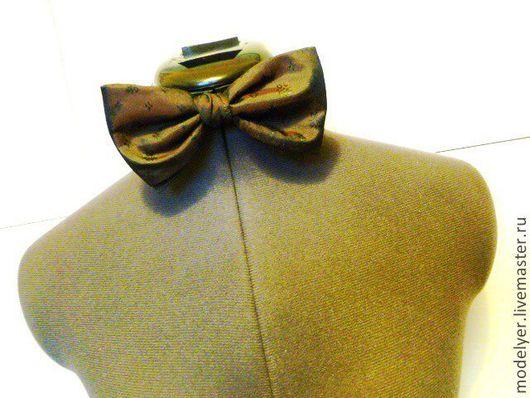 Галстуки, бабочки ручной работы. Ярмарка Мастеров - ручная работа. Купить Бобочка галстук универсальный  шелк  бардо. Handmade. Бордовый