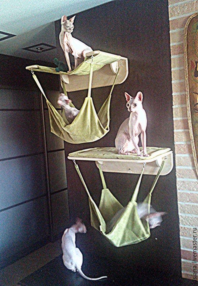 Домик для кошек настенный, Аксессуары для питомцев, Екатеринбург, Фото №1