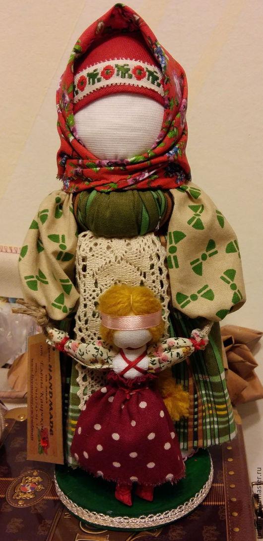 Народные куклы ручной работы. Ярмарка Мастеров - ручная работа. Купить Ведучка. Handmade. Ярко-красный, подарок на 8 марта