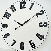 "Для дома и интерьера handmade. Livemaster - original item Copy of Loft Wall Clock 27,56"". Handmade."