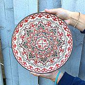 Картины и панно handmade. Livemaster - original item Decorative plate