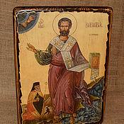 Картины и панно handmade. Livemaster - original item Icon of the Holy Apostle Barnabas. Handmade.