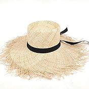 Аксессуары handmade. Livemaster - original item Bao straw hat. Handmade.