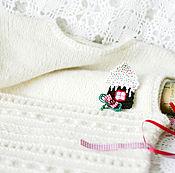 """Одежда ручной работы. Ярмарка Мастеров - ручная работа Жилет вязаный """"Белый"""" жилет ручной работы. Handmade."""