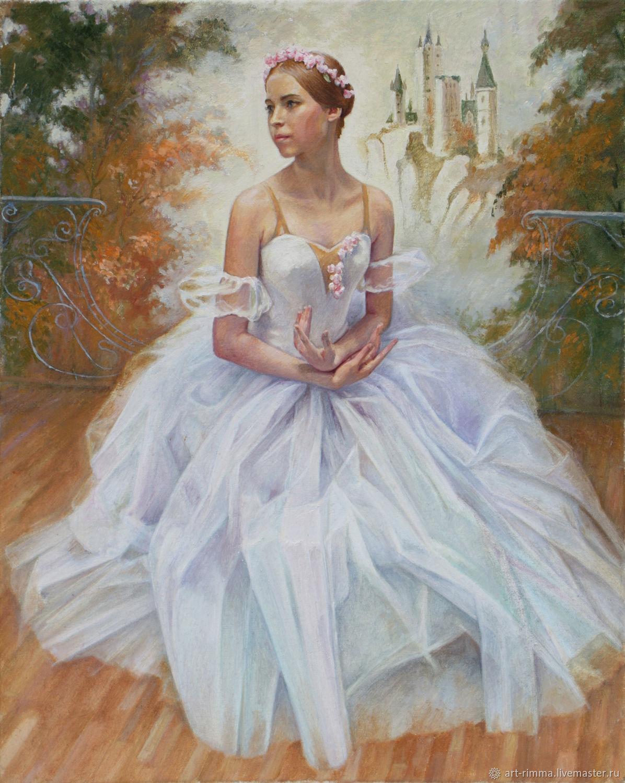 Портрет балерины, Картины, Москва,  Фото №1