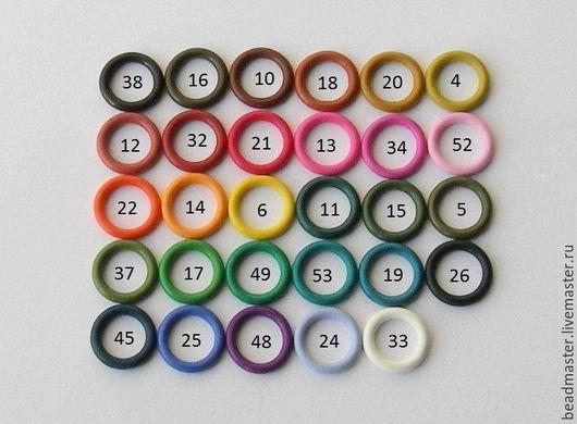 Для украшений ручной работы. Ярмарка Мастеров - ручная работа. Купить Силиконовые колечки 12 мм для браслета Регализ. Handmade.