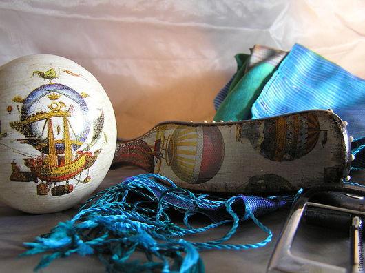 """Персональные подарки ручной работы. Ярмарка Мастеров - ручная работа. Купить """"Ветер странствий"""" подарки  для отца и сына. Handmade. расческа"""