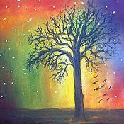"""Картины и панно ручной работы. Ярмарка Мастеров - ручная работа Картина """"Magic tree"""". Handmade."""