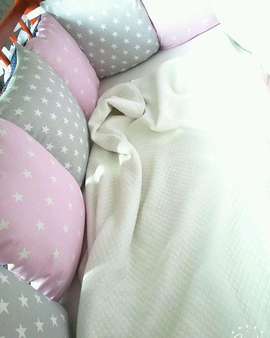 Детская ручной работы. Ярмарка Мастеров - ручная работа. Купить Бортики-подушки. Handmade. Бортики в кроватку, Подушки, хлопок 100%