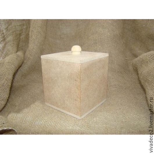 арт. 704-10 Коробка под специи ,фанера 6мм, внешний размер 12*12*13        4/0   285 руб