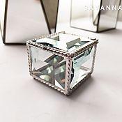 Свадебный салон handmade. Livemaster - original item Box for rings
