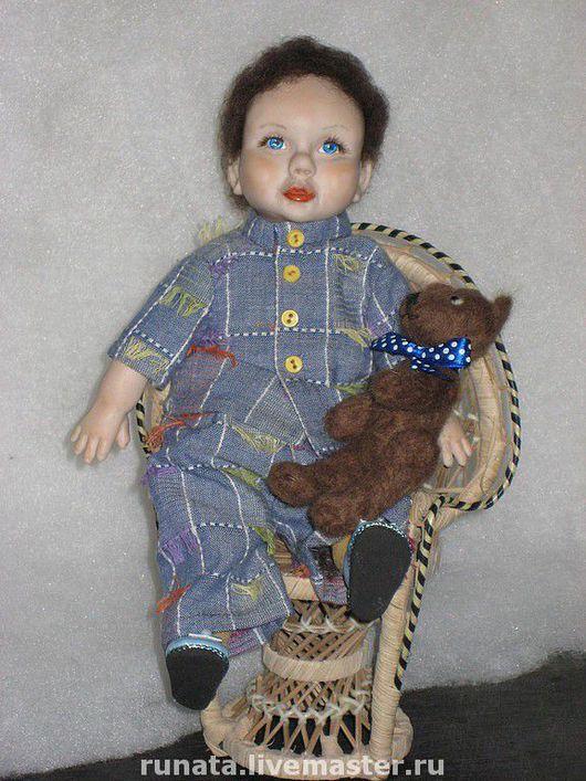 Коллекционные куклы ручной работы. Ярмарка Мастеров - ручная работа. Купить АНТОШКА. Handmade.