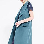 Одежда handmade. Livemaster - original item Green Waistcoat. Handmade.