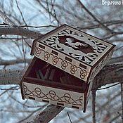 """Фен-шуй и эзотерика ручной работы. Ярмарка Мастеров - ручная работа Набор рун """"Ворон"""". Handmade."""