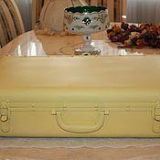 Предметы интерьера винтажные ручной работы. Ярмарка Мастеров - ручная работа Винтажный чемодан, шебби, Германия. Handmade.