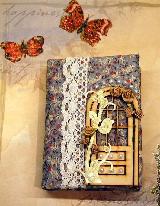 """Блокноты ручной работы. Ярмарка Мастеров - ручная работа. Купить блокнот """"Home, sweet home"""". Handmade. Блокнот ручной работы"""