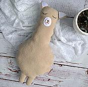 Куклы и игрушки handmade. Livemaster - original item Toy Alpaca. Handmade.