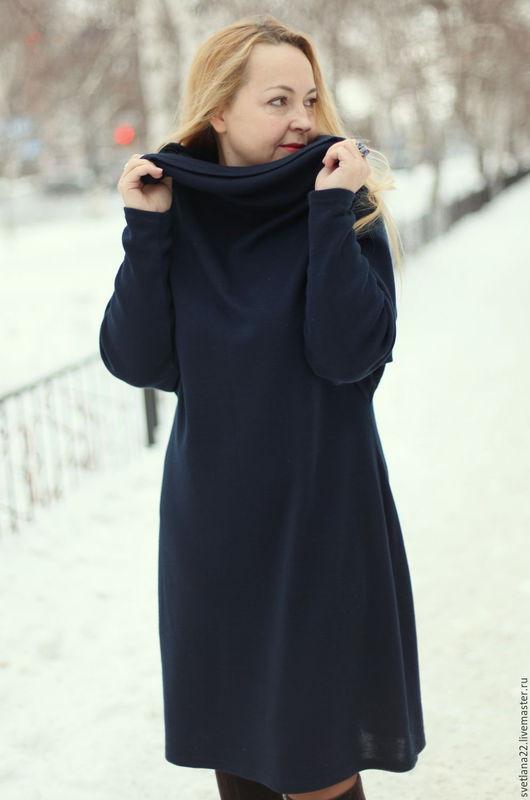 """Платья ручной работы. Ярмарка Мастеров - ручная работа. Купить Модное платье """"В стиле оверсайз-3"""". Handmade."""
