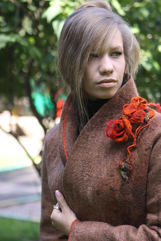 Верхняя одежда ручной работы. Ярмарка Мастеров - ручная работа. Купить Куртка для Юлии. Handmade. Бежевый, 100% шерсть меринос