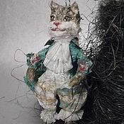 """Куклы и игрушки ручной работы. Ярмарка Мастеров - ручная работа """" Вниз по кроличьей норе"""" Глава Iv Чеширский кот продано. Handmade."""