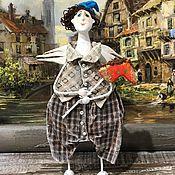 Куклы и игрушки ручной работы. Ярмарка Мастеров - ручная работа Ангел с конем .. Handmade.