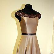 Одежда ручной работы. Ярмарка Мастеров - ручная работа Вечернее платье с юбкой-годе. Handmade.