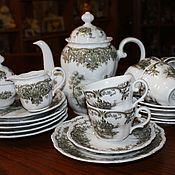 Винтаж handmade. Livemaster - original item Beautiful tea set for 6 persons, Baroque, Seltman Weiden, Germany. Handmade.