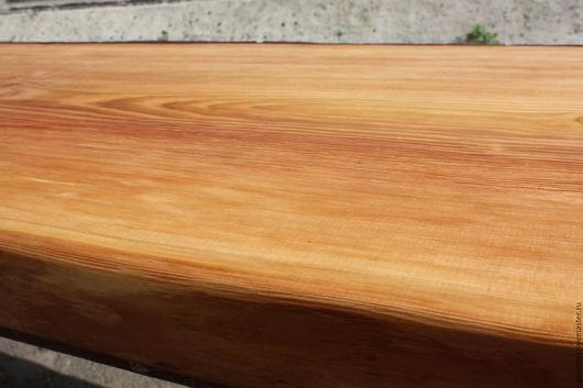 Мебель ручной работы. Ярмарка Мастеров - ручная работа. Купить слэб larch. Handmade. Золотой, дерево, Дерево натуральное