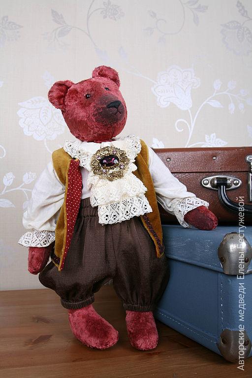 Мишки Тедди ручной работы. Ярмарка Мастеров - ручная работа. Купить Плюшевый медведь Карл. Handmade. Мишки тедди
