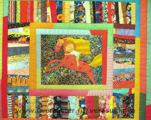 Home Textiles & Carpets handmade. Livemaster - handmade. Buy 'I was driving the van on a horse'blanket 210х200см.