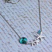 Украшения handmade. Livemaster - original item Mini necklace starfish. Handmade.