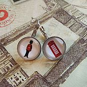 Украшения handmade. Livemaster - original item Earrings Symbols of London (earrings). Handmade.