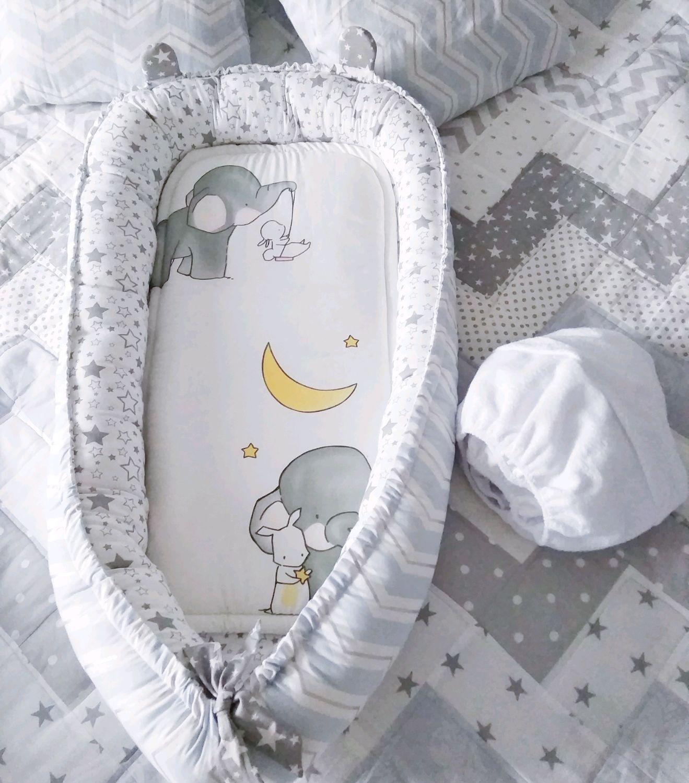 Кокон гнездо для новорожденного со съёмным матрасиком, Кокон-гнездо, Москва,  Фото №1