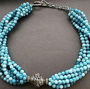 Украшения handmade. Livemaster - original item Necklace SILVER DRAGON agate. Handmade.