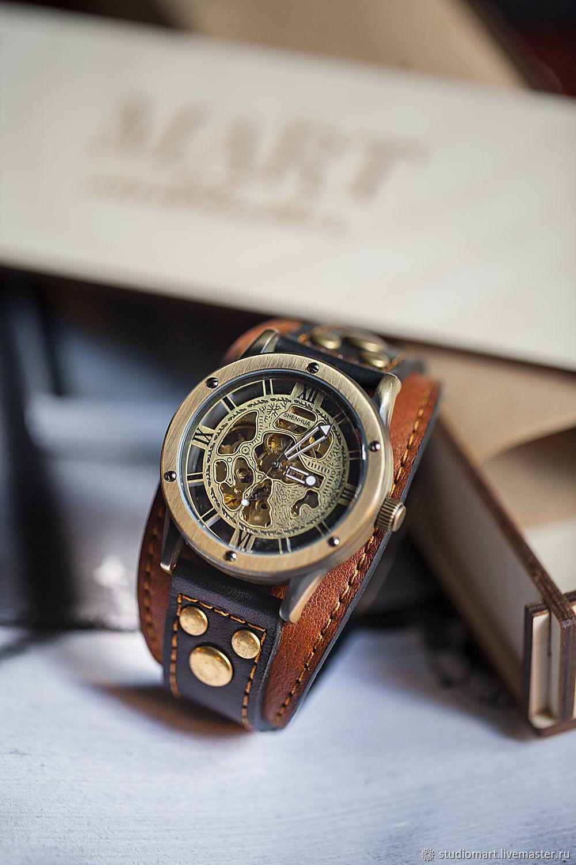 Watch wrist for men Aviator Antic, Watches, St. Petersburg,  Фото №1