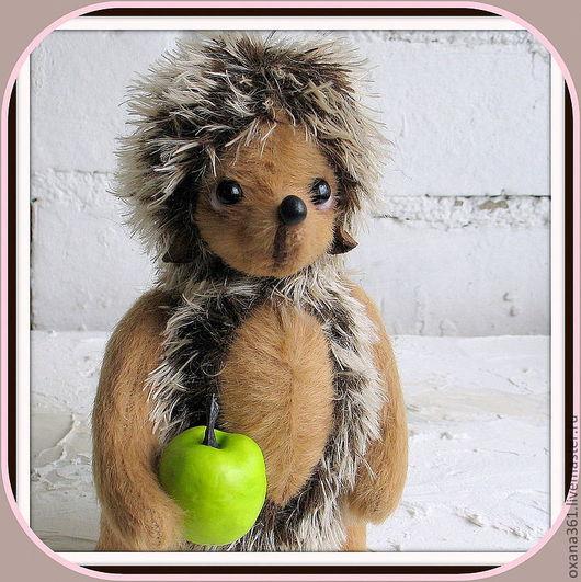 """Мишки Тедди ручной работы. Ярмарка Мастеров - ручная работа. Купить Игрушка Ежик тедди  """"Ежик Боря"""". Handmade. Игрушка"""