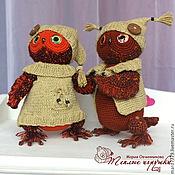 Куклы и игрушки ручной работы. Ярмарка Мастеров - ручная работа Совята! Сова, авторская вязаная игрушка, вязаный тедди, птица. Handmade.