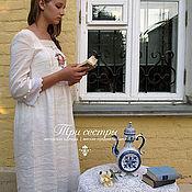 """Одежда ручной работы. Ярмарка Мастеров - ручная работа Платье """"С пионом"""". Handmade."""