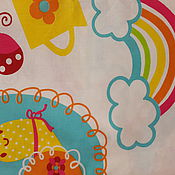 """Ткани ручной работы. Ярмарка Мастеров - ручная работа Опт 115р!!!Бязь Премиум класса. Детская.""""Серпантин"""". Handmade."""