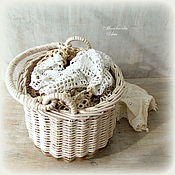 Для дома и интерьера handmade. Livemaster - original item basket with handle.. Handmade.