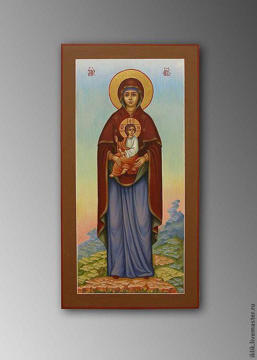 Икона Божией Матери. Ручная роспись. Ярмарка мастеров.