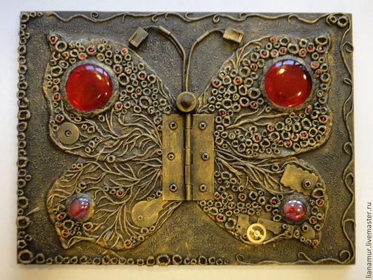 """Фэнтези ручной работы. Ярмарка Мастеров - ручная работа. Купить Панно """"Бабочка"""". Handmade. Панно, панно в подарок"""