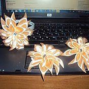 Аксессуары ручной работы. Ярмарка Мастеров - ручная работа украшение хризантема. Handmade.