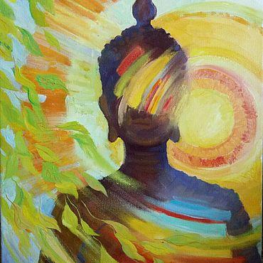 """Картины и панно ручной работы. Ярмарка Мастеров - ручная работа Картина """"Из солнца"""". Handmade."""