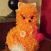 Куклы и игрушки ручной работы. Ярмарка Мастеров - ручная работа Вязание из полипропилена . Лисичка и др. игрушки. Handmade.