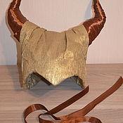 Одежда ручной работы. Ярмарка Мастеров - ручная работа Костюм малефисенты, рога, украшение на шею. Handmade.